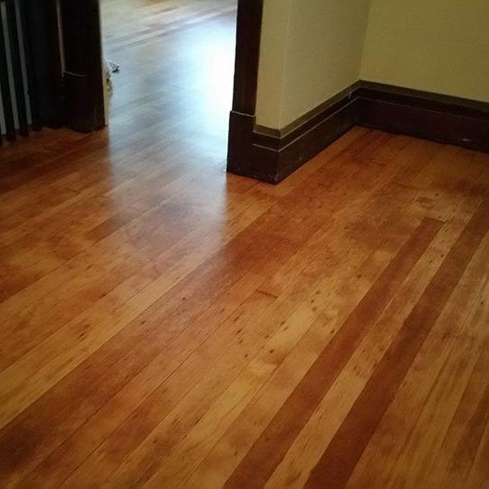 Beautiful old VG Fir flooring