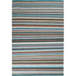 Linie Plenty of Stripes Rug, Blue, 140x200 cm