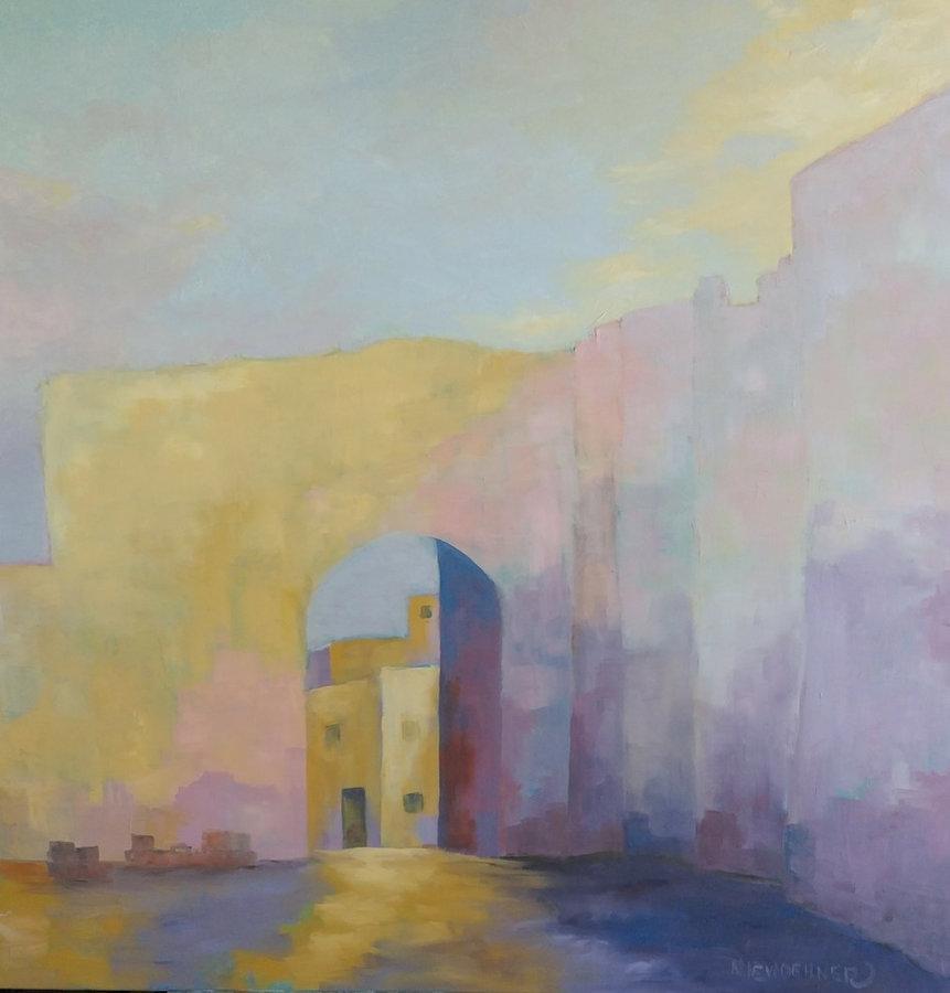 Porta Mesagne, Brandisi, 36x36, gallery wrap