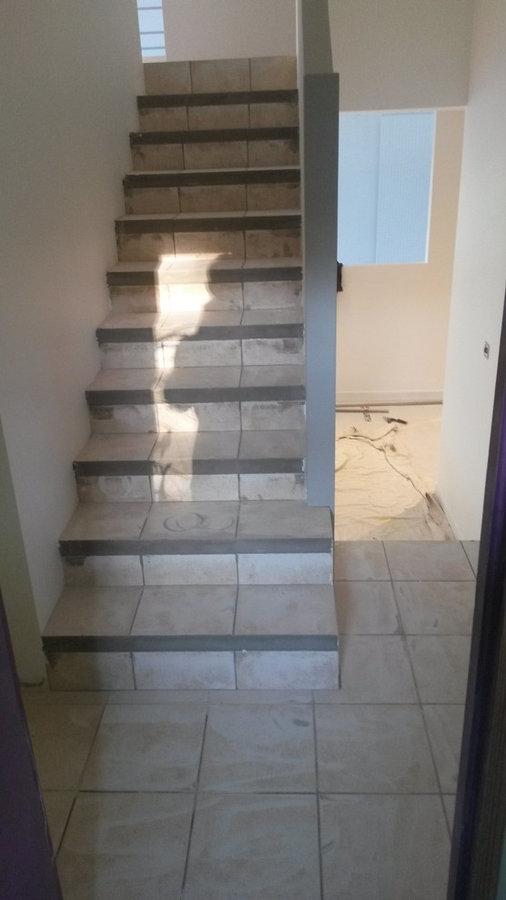 Restauration escalier AVANT