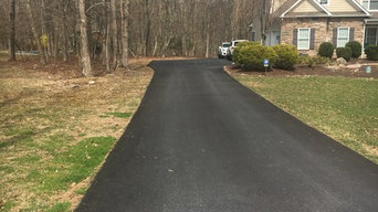 Before & After Sealcoating in Allentown, PA