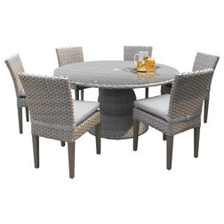 Tropical Outdoor Dining Sets by Burroughs Hardwoods Inc.