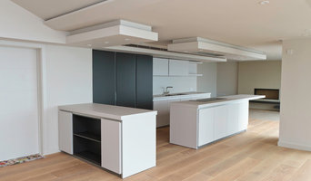 Photoshoot for Stewart Carr design of a bulthaup B1 kitchen in Devon