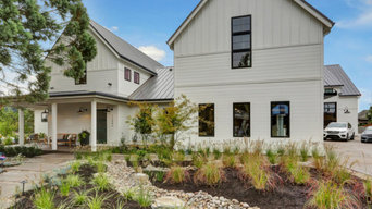 A Street of Dreams farmhouse with industrial features: Oregon Dream