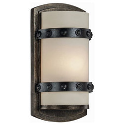 Rustic Wall Sconces by Buildcom