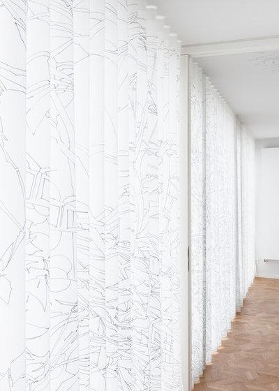 Modern Gardinen & Jalousien by wiewiorra hopp schwark architekten