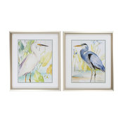 Heron Egret, Set of 2
