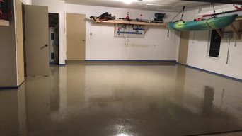 Garage Clean Out, Organizong & Epoxy Floor