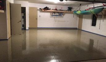 Garage Clean Out, Organizong & Epoxy Floor