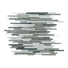"12""x12"" Urban Tiles, Set of 11, Platinum"