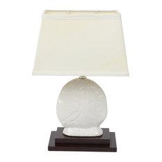 DEI   Sand Dollar Lamp   Table Lamps