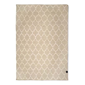 Classic Collection Lotus Area Rug, Natural, 200x140 cm