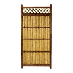 6'x3' Japanese Bamboo Zen Garden Fence