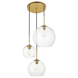 Contemporary Pendant Lighting by Elegant Furniture & Lighting