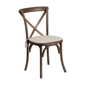 Flash Furniture Stackable Bistro Chair Early American