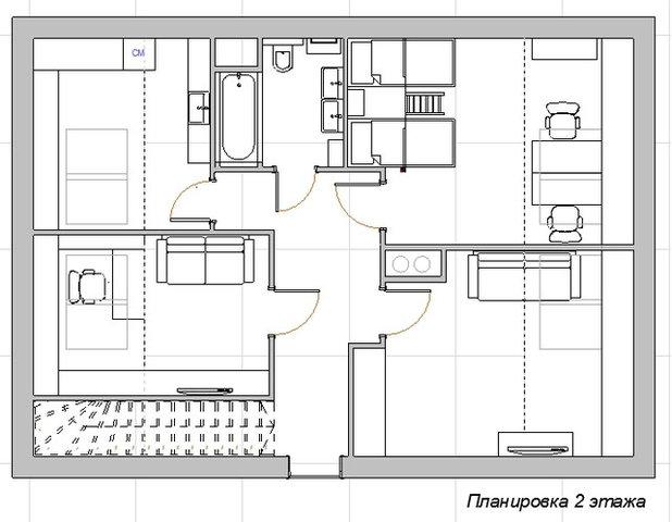 В гостях: двухэтажная квартира в сталинке с детскими в мансарде