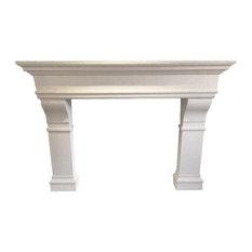 "Annual Sale 30% off Castello 72"" Cast Stone Fireplace Mantel Mantle Surround"