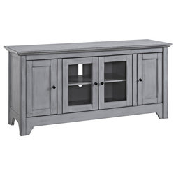 Farmhouse Entertainment Centers And Tv Stands by VirVentures