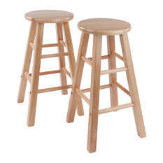 Element 2-Pc Set Counter Stools 24-inch Natura Finish