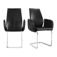 Picket House Furnishings Gigi Arm Chair Set In White Black