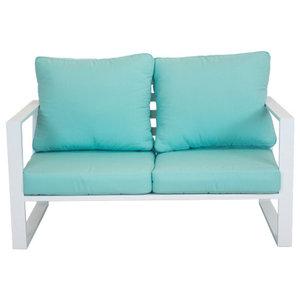 Outdoor Bolonia Sofa, White
