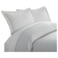 Premium Ultra Soft Pinstriped 3-Piece Duvet Cover Set, Full/Queen