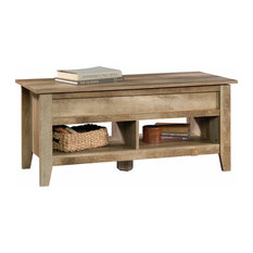 sauder dakota pass lifttop coffee table craftsman oak coffee tables