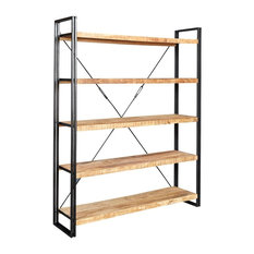 Cosmos Industrial Large Open Bookcase