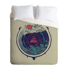 Deny Designs Hector Mansilla Water Duvet Cover - Lightweight