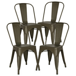 Industrial Dining Chairs by Edgemod Furniture