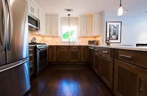 Final Reveal Majra S Two Toned Kitchen