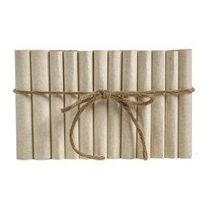 Decorative Books, Modern Cream Wrapped ColorPak