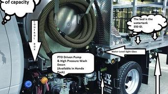 Porta Pottie Pump Truck for Portable Restroom Company in Chicago IL