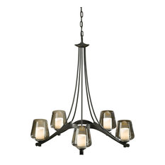 Hubbardton Forge (104115) 5 Light Ribbon Chandelier