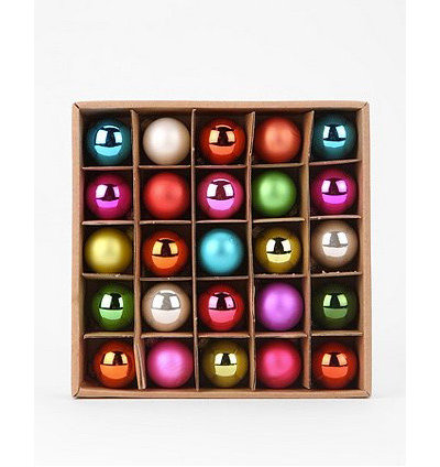 Traditional Christmas Ornaments by Urban Outfitters