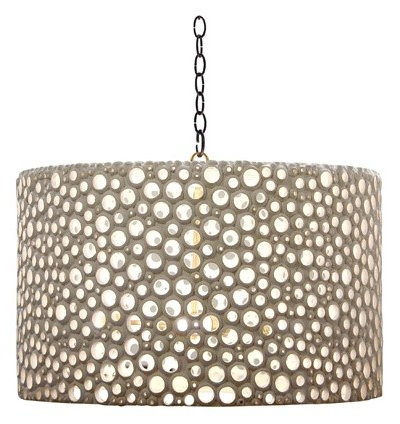 Eclectic Lamp Shades by Candelabra