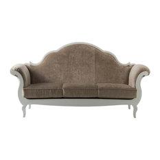 3-Seater Velvet Sofa