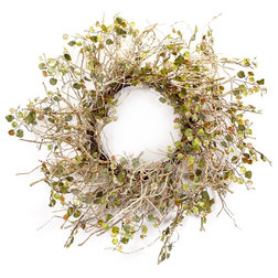 Farmhouse Wreaths And Garlands by Melrose International LLC
