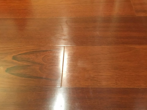 Engineered Hardwood Floors Restoration