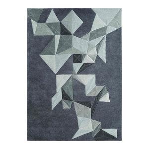 Toulemonde Bochart Pliages Rug, Grey, 200x300 Cm