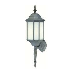 Thomas Lighting PL946163 Hawthorne Outdoor Wall Lantern, Painted Bronze