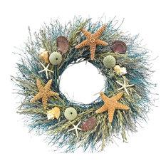 Botanical Splash - Starfish Ocean Wreath, Large - Wreaths and Garlands