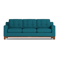 Apt2B - Brentwood Queen Size Sleeper Sofa, Innerspring Mattress, Biloxi Blue - Sleeper Sofas