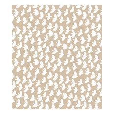 Lola Fly Away Oatmeal PVC Tablecloth, 140x200cm - Rectangular