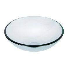 VIGO Crystalline Glass Vessel Bathroom Sink