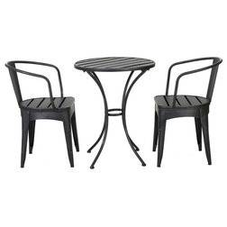 Industrial Outdoor Pub And Bistro Sets by GDFStudio