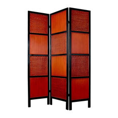 Tainan Screen in Red & Orange