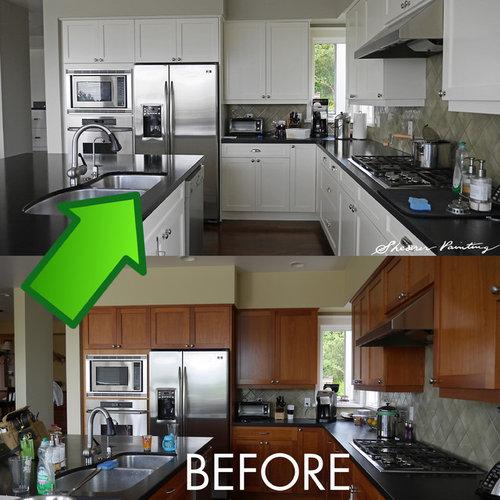 kitchen cabinet repaint white enamel kitchen cabinet repainting clean state painting