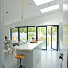 high and vaulted ceilings