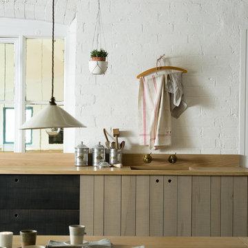 The Sebastian Cox Kitchen at Cotes Mill by deVOL
